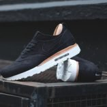 Nike Air max 1 Royal zwart linnen sneakers