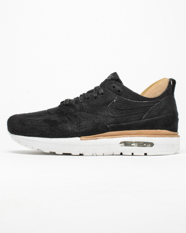 Nike Air max 1 Royal zwart linnen sneaker
